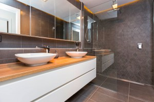 Harrison house bathroom